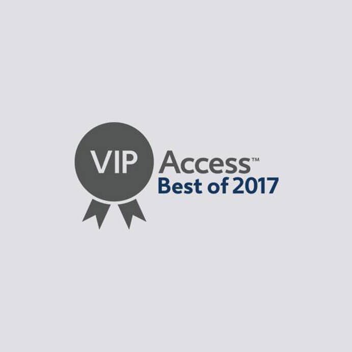 """Best of +VIP Access Hotel of 2017"" by Expedia"