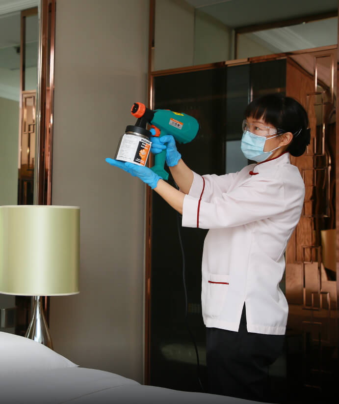 Daily Professional Cleaning & Sanitizing