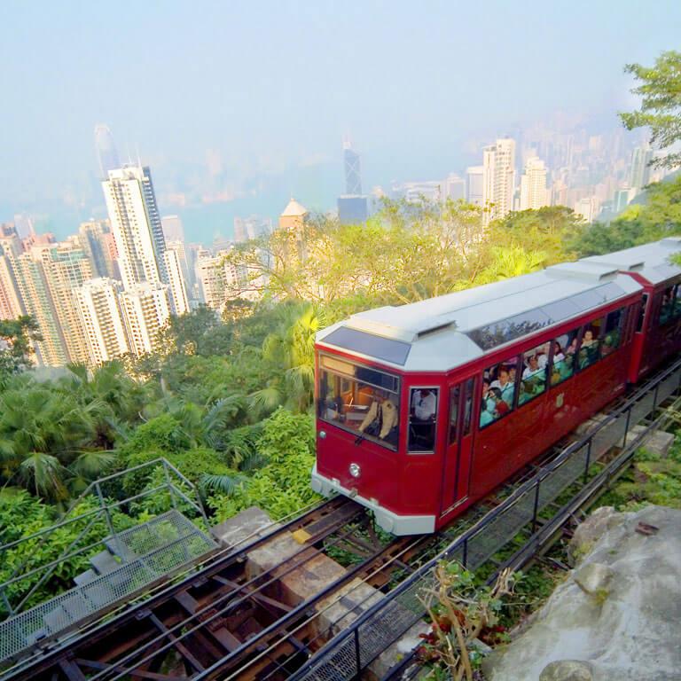 Peak Tram Tours in Wan Chai Hong Kong