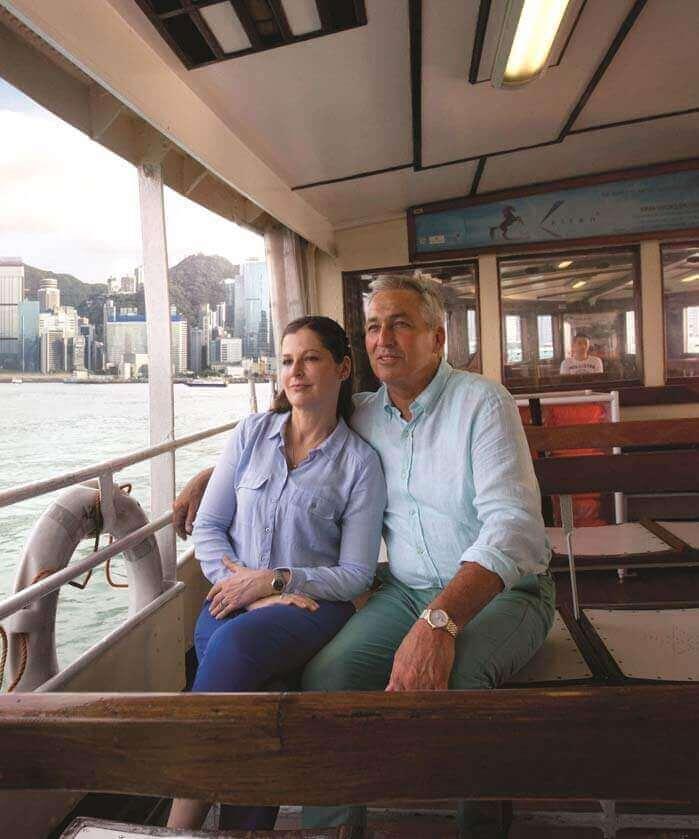 Ferry Rides in Wan Chai Hong Kong