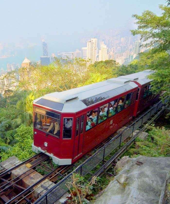 The Peak & Peak Tram Ride