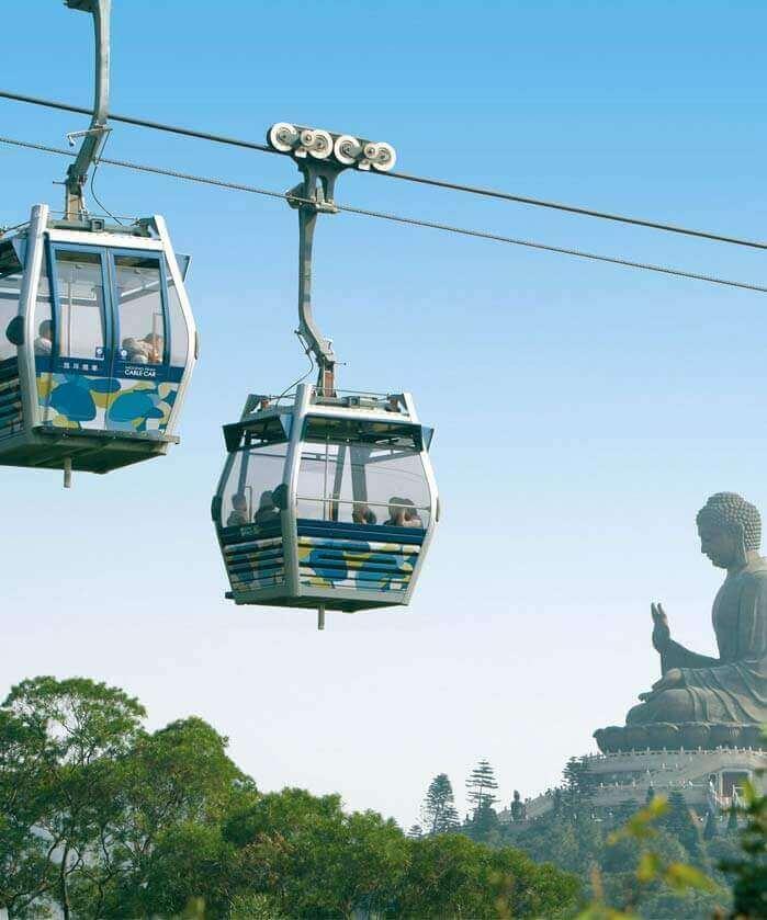 Ngong Ping 360 Skyrail Hong Kong Cable Car Sightseeing Tours
