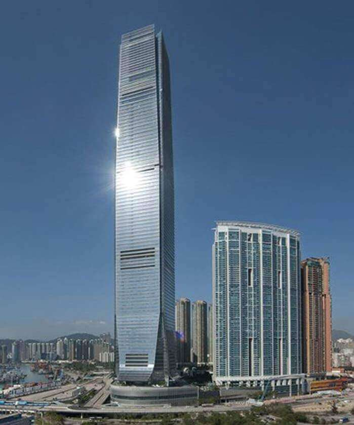 Sky 100 Observation Deck in Hong Kong